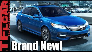2017 Honda Accord Hybrid First Drive Review: A Fuel Sipping 49 MPG Sedan