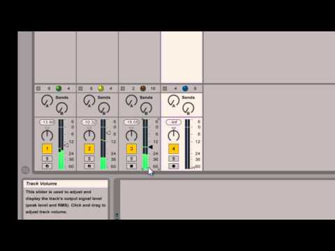 Ableton Live - Mix Levels - How To Tutorial