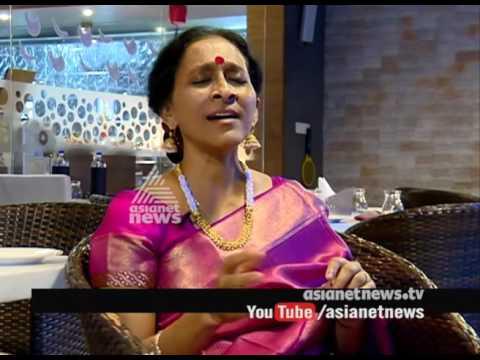 Bombay Jayashri (singer)  interview with Bombay Jayashri