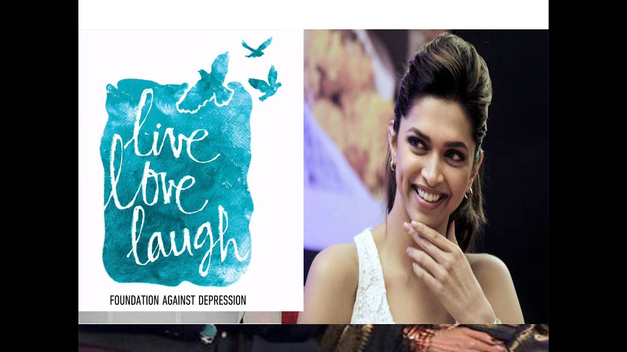 Deepika Padukone Unveils Logo For The Live Love Laugh ...