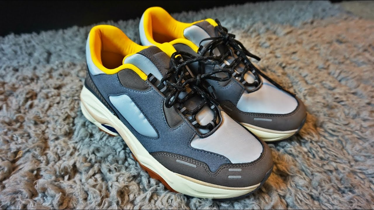 Zara Dad Shoes Cop Contrasting Sneakers With Thick Soles Youtube
