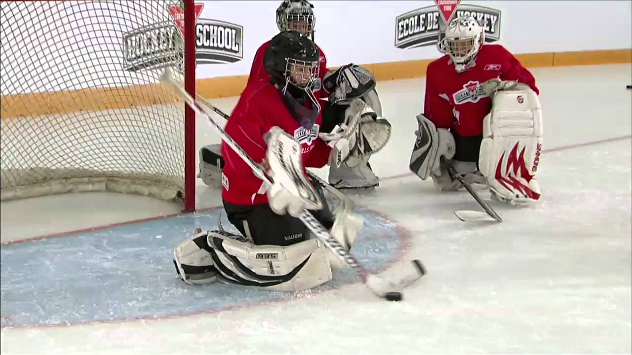Hockey Skills Goaltending Butterfly Youtube