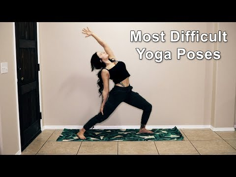 Most Difficult Yoga Asanas | Advanced Yoga Poses | Lose Belly Fat | Difficult Exercises Made Easy