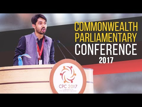 Commonwealth Parliamentary Conference Speech By Ayman Sadiq (2017)
