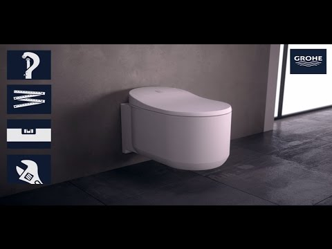 grohe sensia arena refurbishment youtube. Black Bedroom Furniture Sets. Home Design Ideas