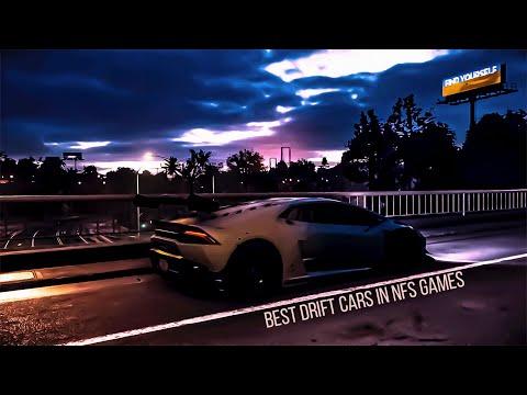 Best Drift Cars In NFS Games