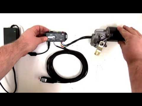 Parking Motor and Picovolt Controller Demonstration