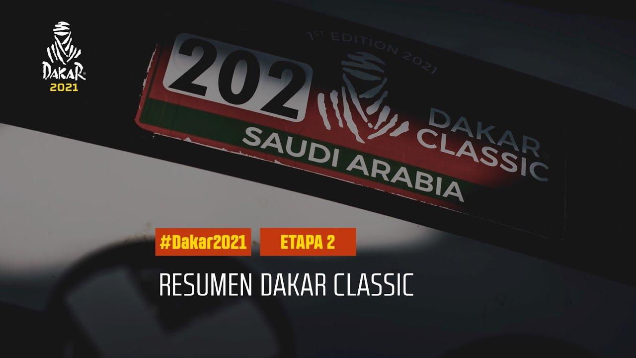 #DAKAR2021 - Etapa 2 - Bisha / Wadi Ad-Dawasir - Resumen Dakar Classic