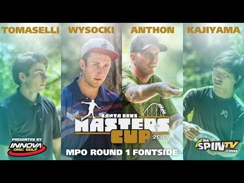 MPO Round 1 Frontside 2017 Masters Cup Presented by Innova (Tomaselli, Wysocki, Anthon, Kajiyama)