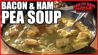 Bacon Ham And Hocks Pea Soup By The Bbq Pit Boys