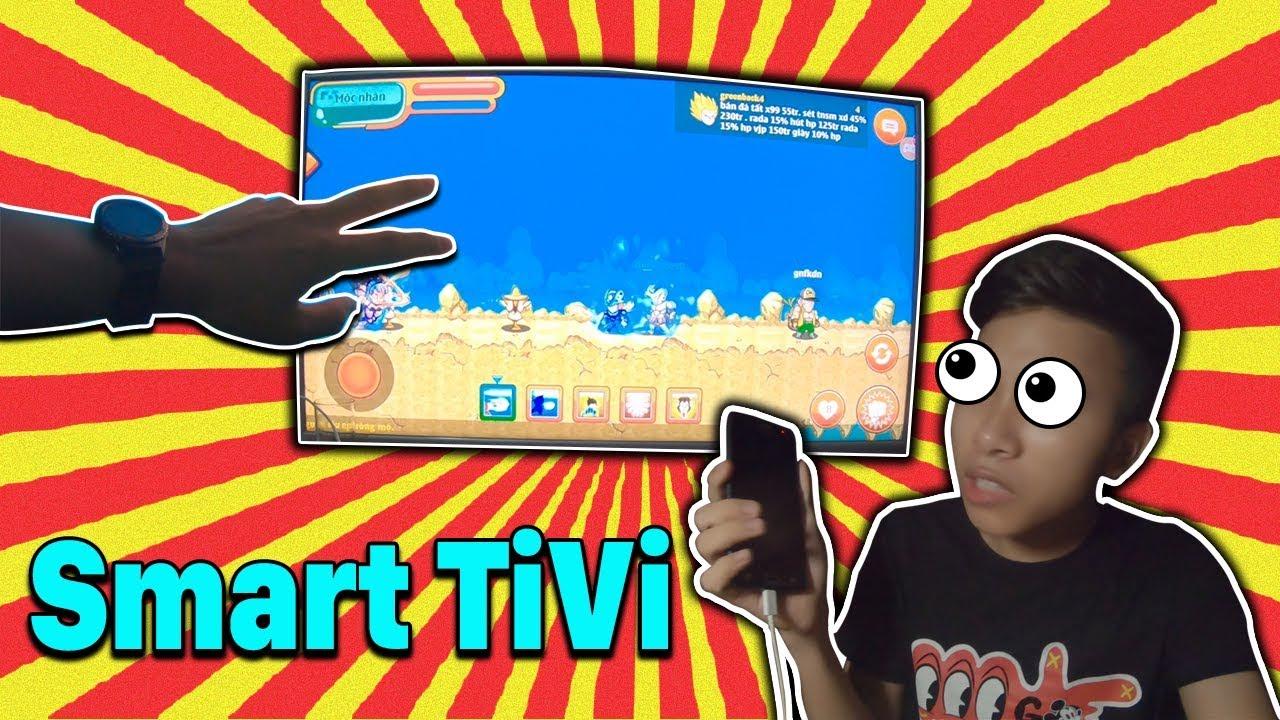 Chơi Ngọc Rồng Online Trên Smart TiVi? Bao Phê Luôn !