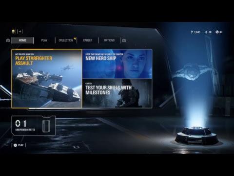 Star Wars battlefront 2 episode 28 News, and training for Jetpack Cargo