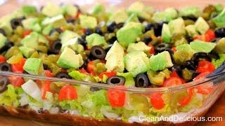Clean Eating Turkey Taco Dip | Clean & Delicious