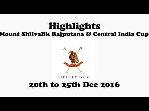 Highlights Jodhpur Polo Ground Mount Shivalik Rajputana