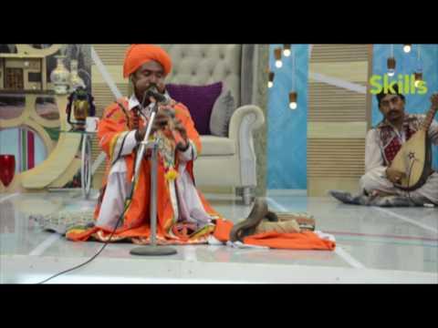Snake Charmer Spera (Jogi) Playing with Snake | Life Skills TV