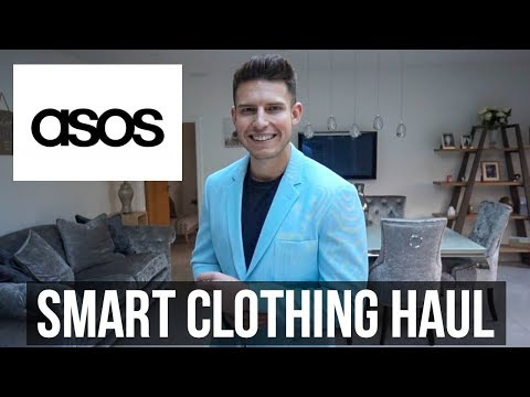 ASOS Smart/Workwear Mens Clothing Haul & Try On