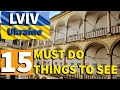 15 MUST DO things to see | Lviv, Ukraine | Travel Guide