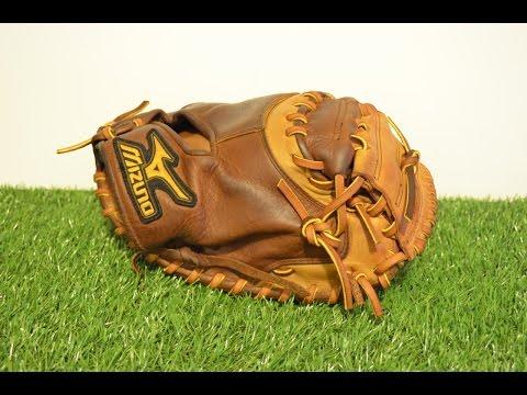 Mizuno GX27 Catchers Mitt Relace - Before and After Glove Repair