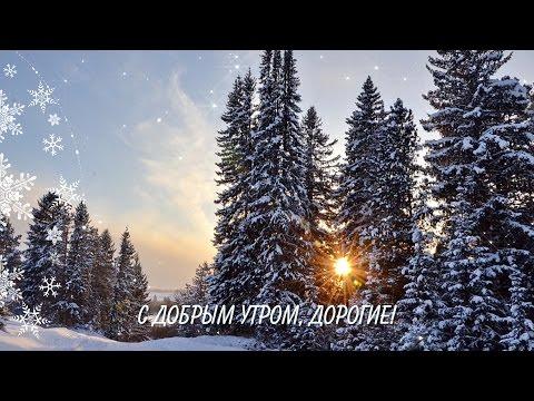 Видео с добрым утром картинками