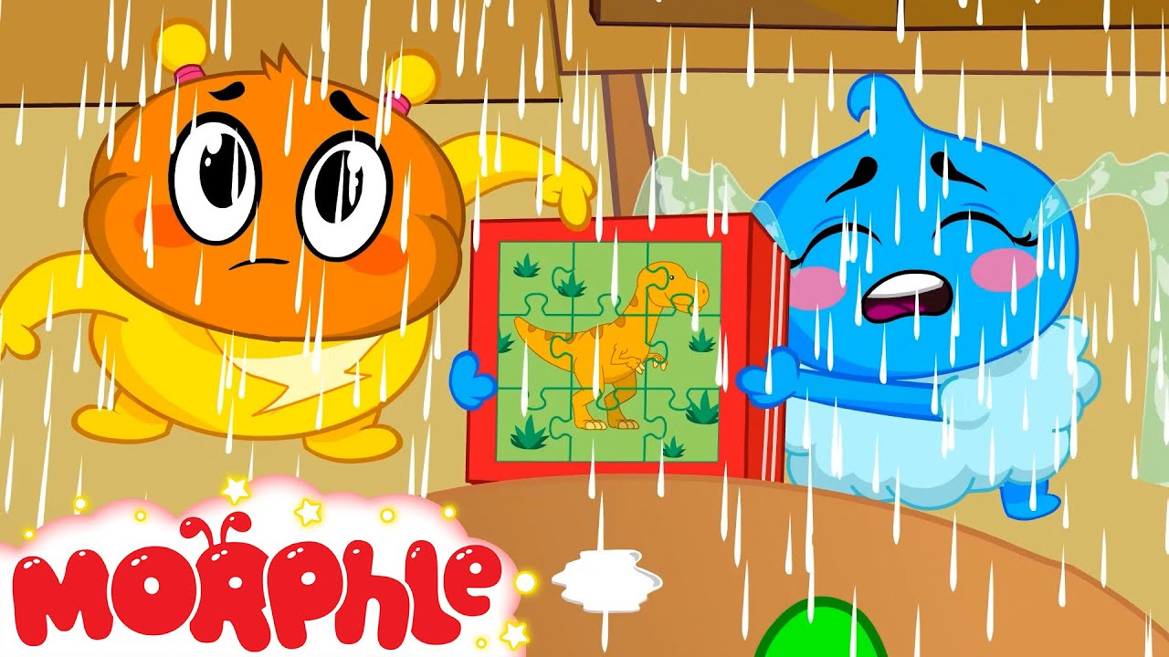 MORPHLE - Dinosaur Puzzle   Kids Fun & Educational Cartoons   @Morphle vs Orphle - Kids Cartoons