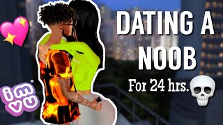 DATING A NOOB ON IMVU | FOR 24 Hours ! 😱