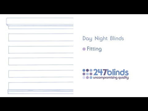 day night blinds fitting instructions youtube. Black Bedroom Furniture Sets. Home Design Ideas