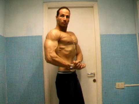 the rock steroidi prima e dopo