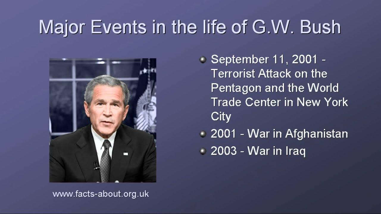George W Bush Fun Facts