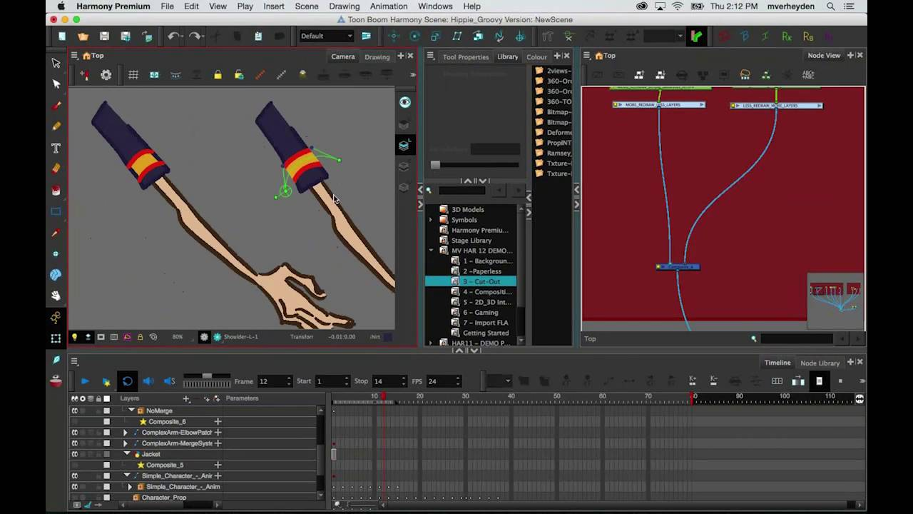 Webinar cut-out animation: learn different techniques and styles.