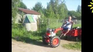 Еду я на тракторе