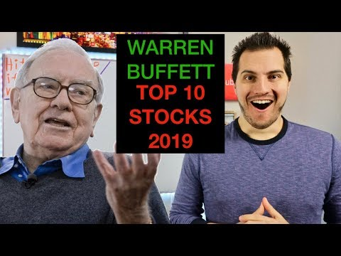 Warren Buffett Top 10 Stocks For 2019