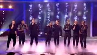 JLS & Westlife - X Factor - Final  - Flying without Wings