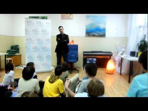 Centrul Gifted Education: Dragos Preda, Mentor in Dialog cu Copiii Supradotati (1)