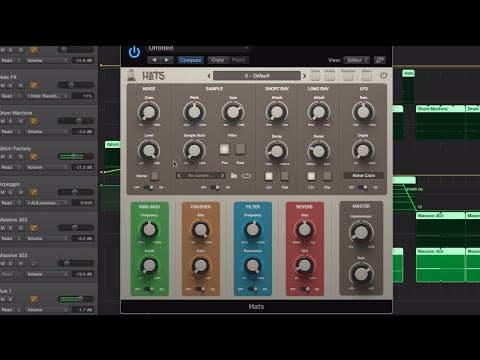 Hats off to AudioThing for its new cymbals synth