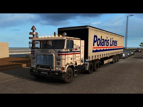 ETS2 #125 | Ruta De Ferry Camión Freightliner FLB | JMGamer