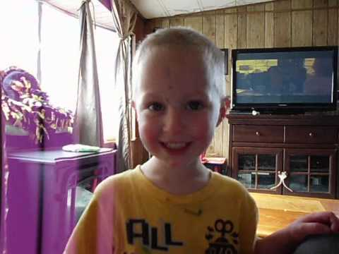 2 year old sings cleveland brown theme song