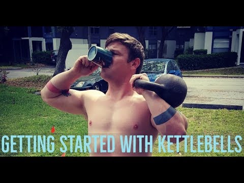 Getting Started With Kettlebells + 11 Beginner Exercises