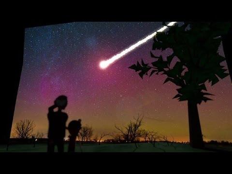 L'observation des étoiles filantes