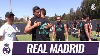 بالفيديو..موراتا يودّع زملاءه في ريال مدريد