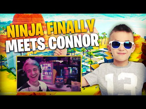 Ninja Finally Meets Connor and Gets Roasted!