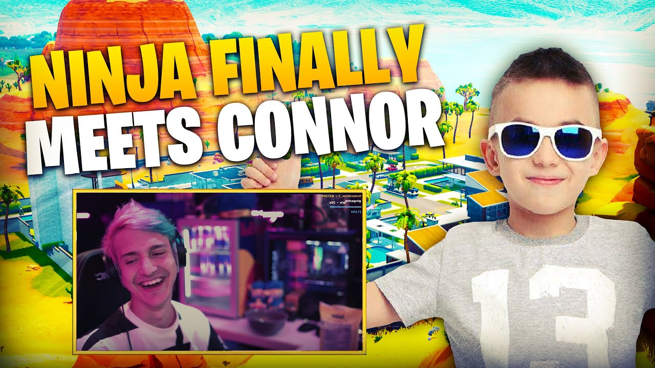 0ed775dd18b6 Ninja Finally Meets Connor and Gets Roasted! - YouTube