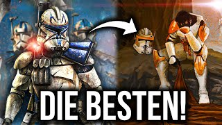 Top 10 Klone! Die Besten Soldaten der Republik! | 212th Star Wars Duell der Favoriten (2500 Stimmen)