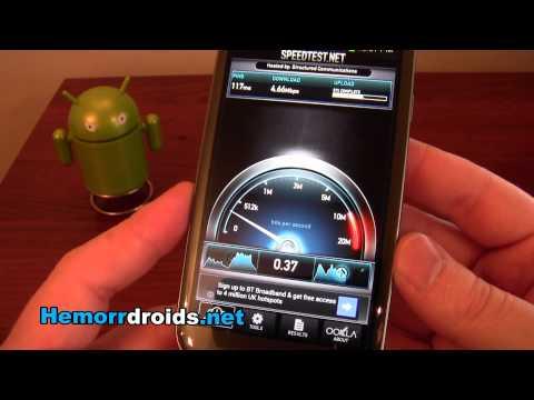 DC-HSDPA through Three UK on Samsung Galaxy S3