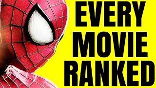 worst to best spider man movies ranked