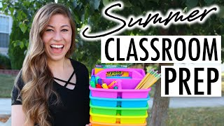 How I Prep for the Next School Year in the Summer | Teacher Summer Vlog