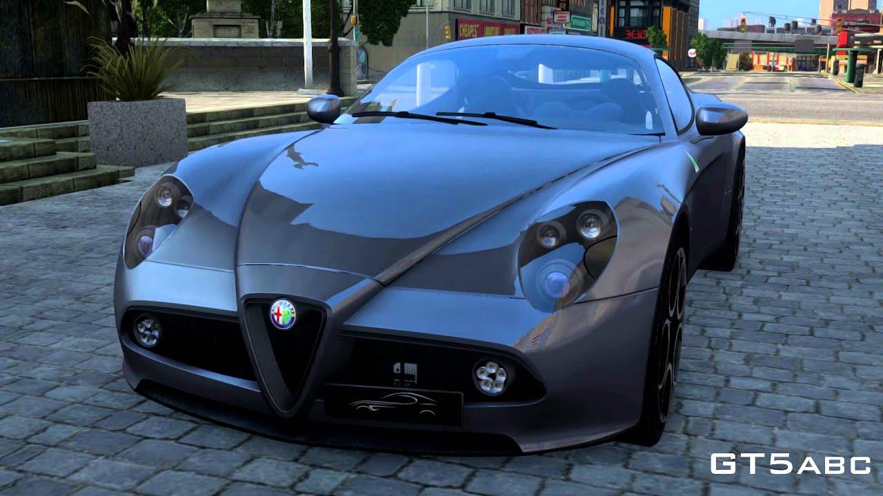 2008 alfa romeo 8c competizione (gta iv mod) - youtube