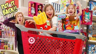 PARENTS CAN'T say NO at TARGET!!