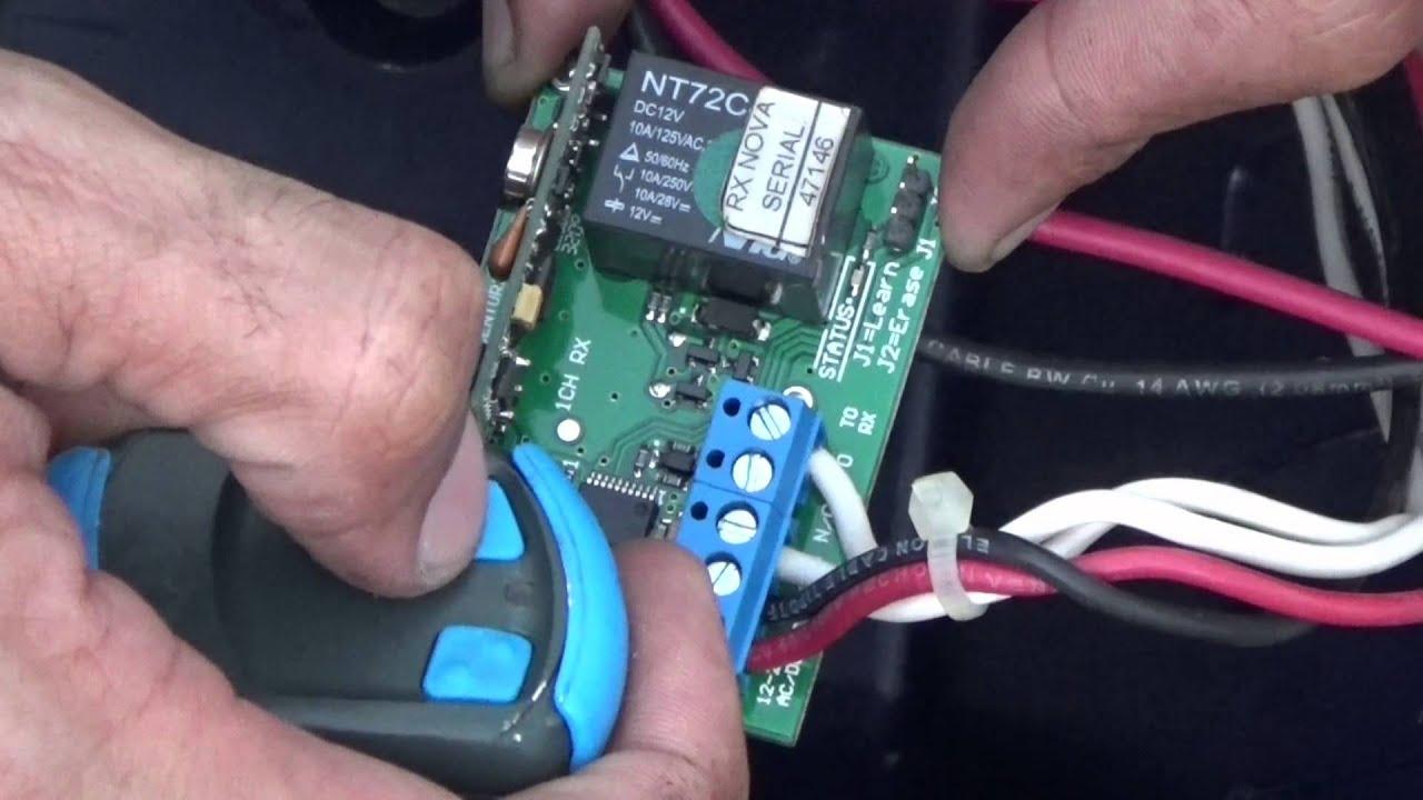 Wiring Diagram Tutorial Yamaha G1 Golf Cart Programacion De Control Remoto Nova Centurion - Youtube