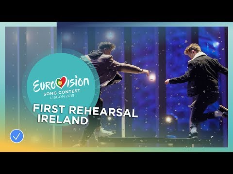 Ryan O'Shaughnessy - Together - First Rehearsal - Ireland - Eurovision 2018