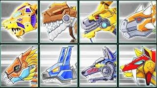 Toy Robot War Gameplay #9: Smilodon, Terminator T-Rex & Creatures | Eftsei Gaming